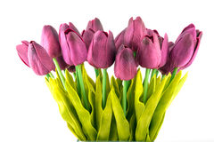 Ramalhete de tulipas artificiais Fotografia de Stock