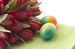 Ramalhete de tulipas vermelhas Imagem de Stock Royalty Free