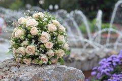 Ramalhete do casamento foto de stock royalty free