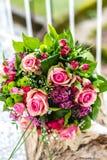 Ramalhete do casamento Imagens de Stock Royalty Free