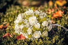 Ramalhete do casamento da noiva Fotografia de Stock Royalty Free
