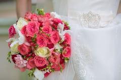 Ramalhete do casamento da noiva Fotos de Stock Royalty Free