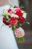 Ramalhete do casamento da noiva Imagem de Stock Royalty Free