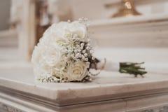 Ramalhete do casamento das rosas Imagens de Stock Royalty Free