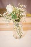 Ramalhete do frasco de pedreiro Imagem de Stock Royalty Free