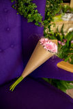 Ramalhete do gerbera cor-de-rosa Fotografia de Stock Royalty Free