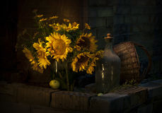 Ramalhete do girassol Fotografia de Stock Royalty Free