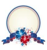 Ramalhete do hibiscus e do círculo Fotografia de Stock Royalty Free