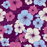 Ramalhete do hibiscus, vetor Fotos de Stock Royalty Free