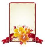 Ramalhete do hibiscus, vetor Imagem de Stock