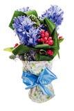 Ramalhete do hyacinth Foto de Stock