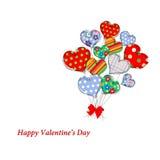 Ramalhete dos corações 5 Imagem de Stock Royalty Free