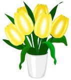 Ramalhete dos tulips Ilustração do Vetor