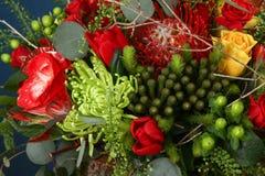 Ramalhete enorme das flores fotografia de stock
