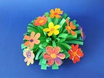 Ramalhete feito das flores de papel Foto de Stock