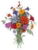 Ramalhete floral Imagem de Stock Royalty Free