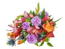 Ramalhete floral colorido Foto de Stock Royalty Free