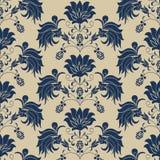 Ramalhete floral do teste padrão sem emenda no vaso Fotos de Stock Royalty Free