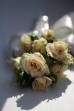 Ramalhete fresco das rosas de chá Foto de Stock