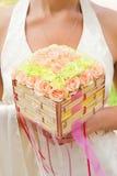 Ramalhete luxuoso das rosas fotos de stock