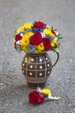 Ramalhete moderno do casamento Imagens de Stock Royalty Free