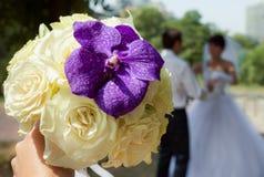 Ramalhete nupcial Foto de Stock Royalty Free