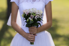Ramalhete nupcial bonito Fotos de Stock Royalty Free