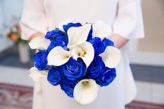 Ramalhete nupcial bonito das flores Imagens de Stock Royalty Free