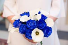 Ramalhete nupcial bonito das flores Fotografia de Stock Royalty Free