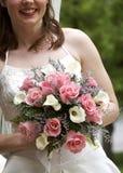Ramalhete nupcial do casamento fotos de stock