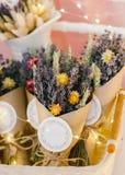 Ramalhete secado da alfazema Imagem de Stock Royalty Free