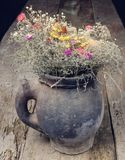 Ramalhete seco das flores foto de stock