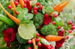 Ramalhete vegetal Imagem de Stock