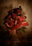 Ramalhete vermelho foto de stock royalty free
