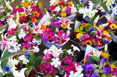 Ramalhetes da flor Imagem de Stock Royalty Free