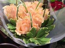 Ramalhetes das rosas Imagens de Stock