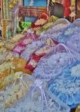 Ramalhetes das rosas no Medina de Tunes, Tunísia Imagem de Stock Royalty Free