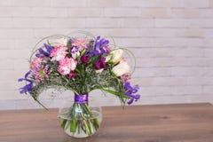 Ramalhetes de flores dos varios Fotografia de Stock