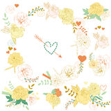 Ramalhetes florais Fotos de Stock