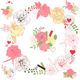 Ramalhetes florais Imagem de Stock