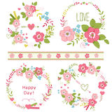 Ramalhetes florais Fotografia de Stock
