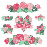 Ramalhetes florais Imagens de Stock Royalty Free