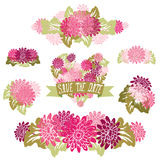 Ramalhetes florais Fotografia de Stock Royalty Free