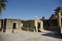 Ramalingeshwara grupa świątynie, Avani, Karnataka obrazy royalty free