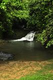 Raman Forest waterfall Royalty Free Stock Photography