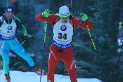 Raman Yaliotnau - biathlon Royalty-vrije Stock Foto's