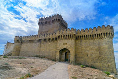 Ramana Castle in Ramana village of Baku. Azerbaijan. Built in the 16th century Royalty Free Stock Images
