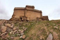 Ramana Castle in Ramana village near Baku Stock Images