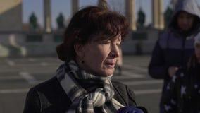 Ramar av den härliga staden av Budapest stock video