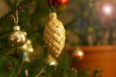 Ramas de árbol de Cristmas Fotos de archivo